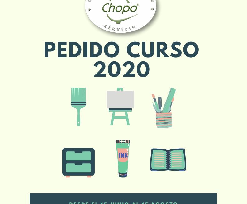 Pedido Curso 2020